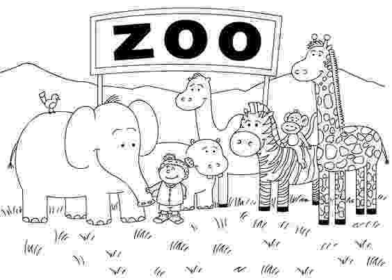 animals coloring worksheets for kindergarten printable zoo coloring pages coloringmecom for coloring animals worksheets kindergarten