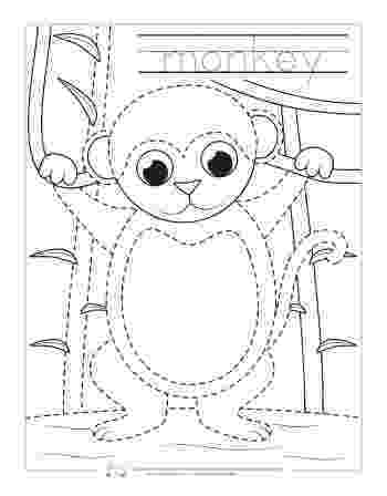 animals coloring worksheets for kindergarten safari and jungle animals tracing worksheets itsy bitsy fun coloring animals for worksheets kindergarten