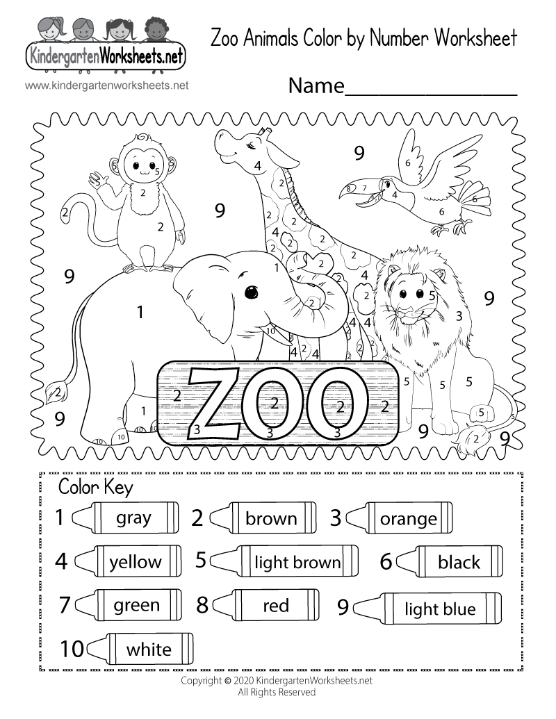 animals coloring worksheets for kindergarten zoo coloring worksheet free kindergarten learning for worksheets animals kindergarten coloring