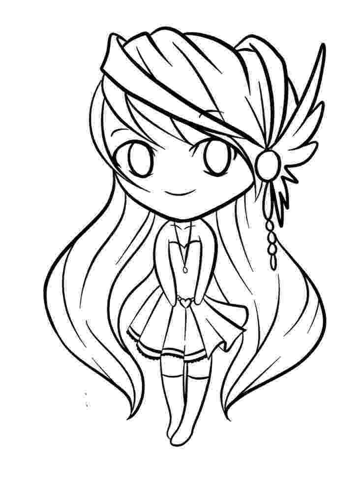 anime chibi coloring pages chibi lollipop girl coloring page free printable coloring anime chibi pages