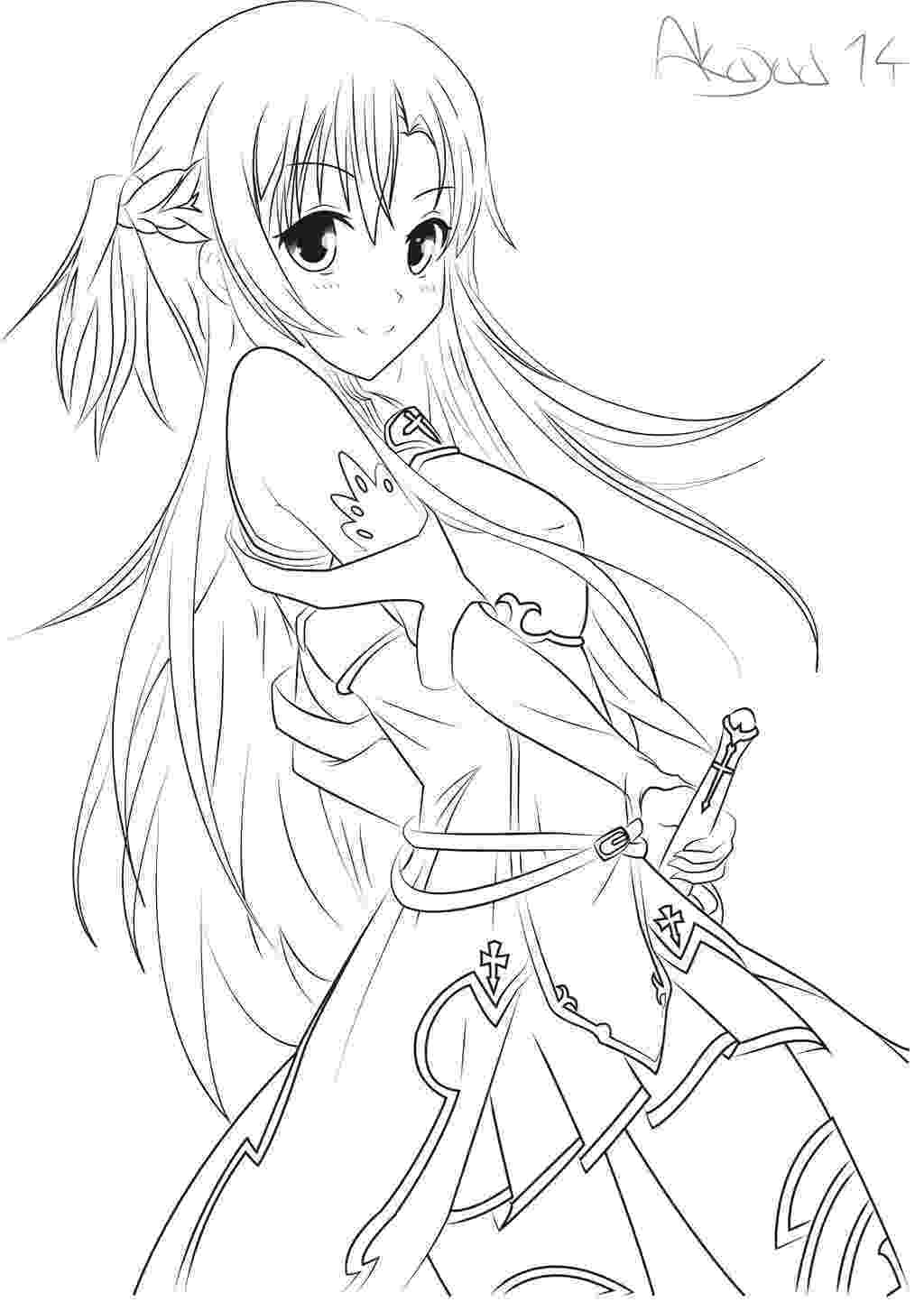 anime coloring pages online anime coloring pages getcoloringpagescom online anime coloring pages
