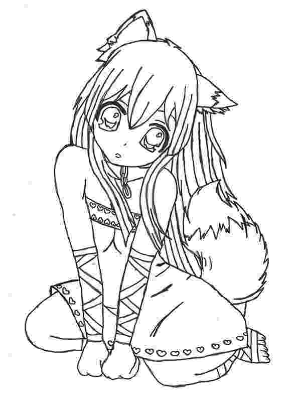 anime coloring pages online asuna yuuki sword art online lineart by akayaa on coloring anime online pages