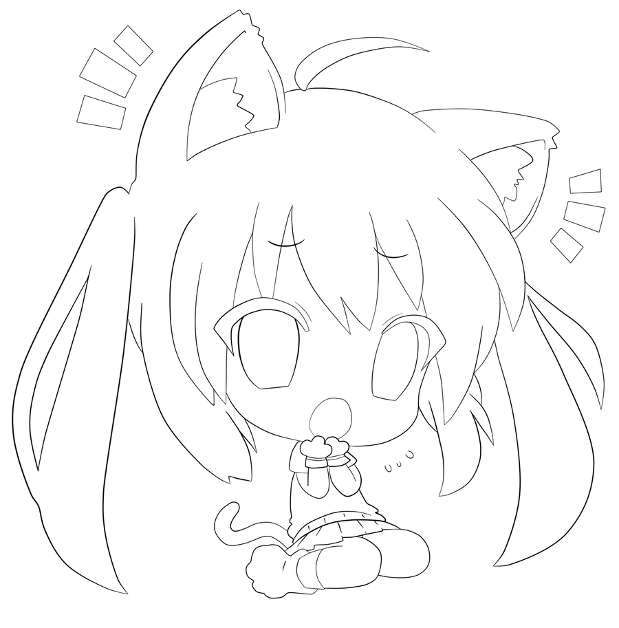 anime coloring pages online free printable chibi coloring pages for kids anime pages online coloring