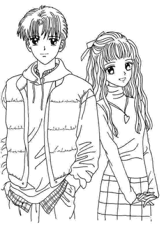 anime couples coloring pages cute couple coloring pages scicomnyccom doodle anime pages coloring couples