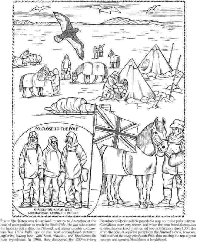antarctica coloring page antarctica coloring page coloring places and seasons antarctica coloring page