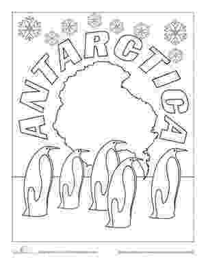 antarctica coloring page antarctica free coloring pages coloring page antarctica