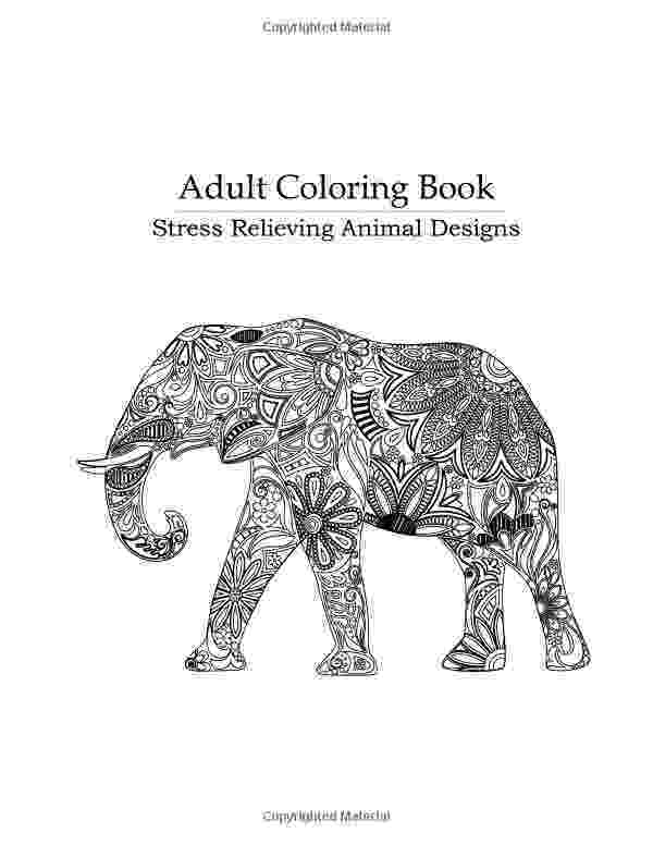 anti stress coloring book animals anti stress coloring pages for girls to download and print stress animals coloring book anti