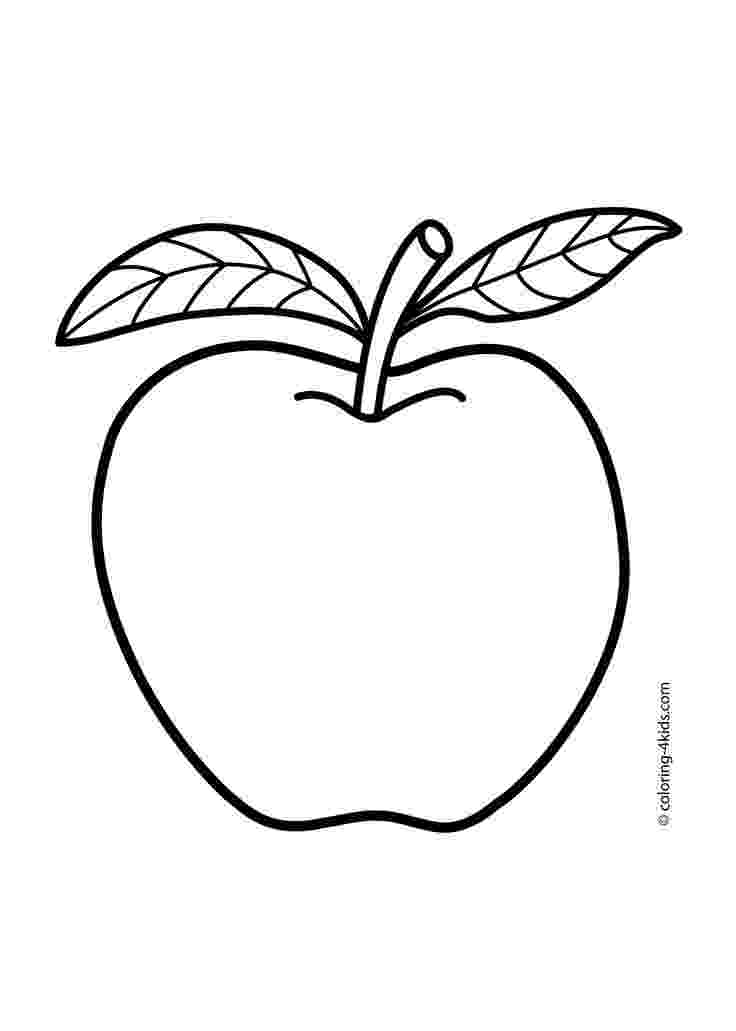 apple picture for kids coloring pages for kids apple coloring pages for kids picture apple kids for
