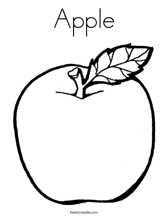 apple picture for kids free printable apple coloring pages for kids cool2bkids kids for picture apple