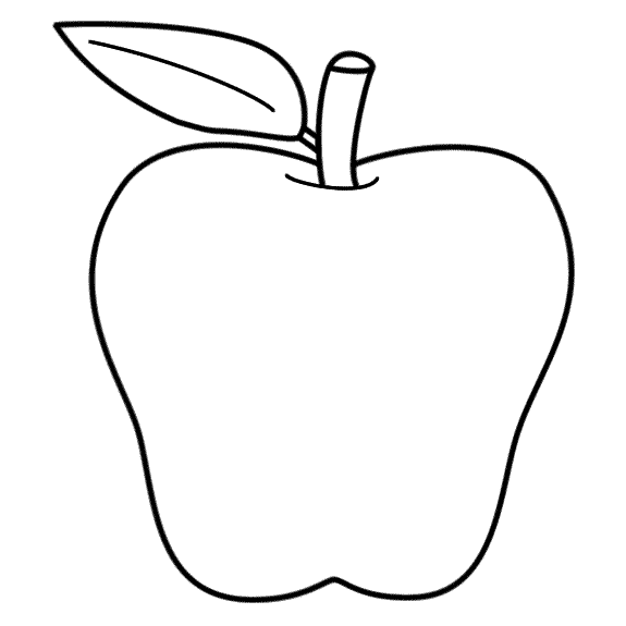 apple picture for kids sketch of apple fruit at paintingvalleycom explore for kids apple picture