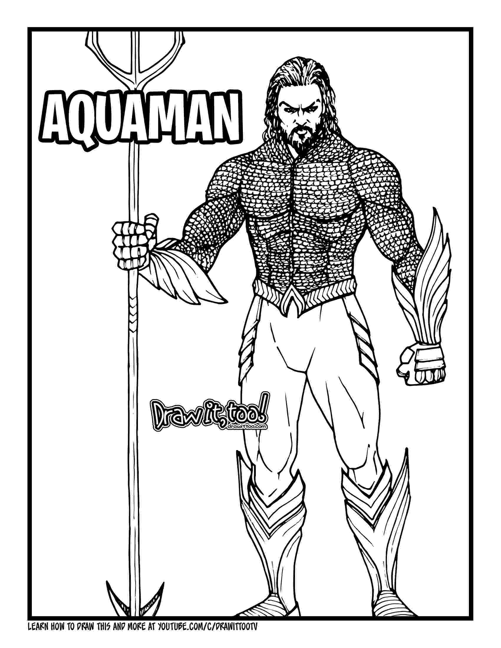 aquaman coloring pages aquaman coloring pages download and print aquaman aquaman pages coloring