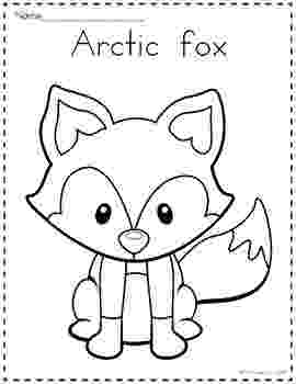 arctic animals coloring pages for preschoolers arctic animals printable coloring pages polar animals coloring pages preschoolers animals for arctic