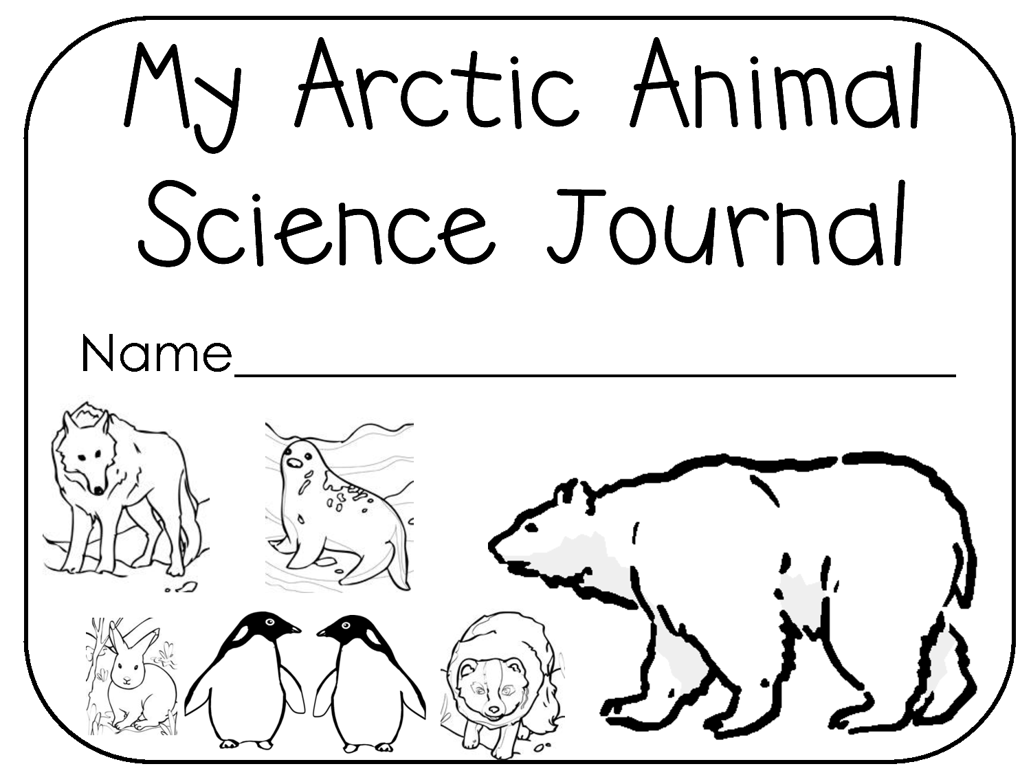 arctic animals coloring pages for preschoolers at the zoo arctic animals a walrus illustration for pages arctic for preschoolers coloring animals