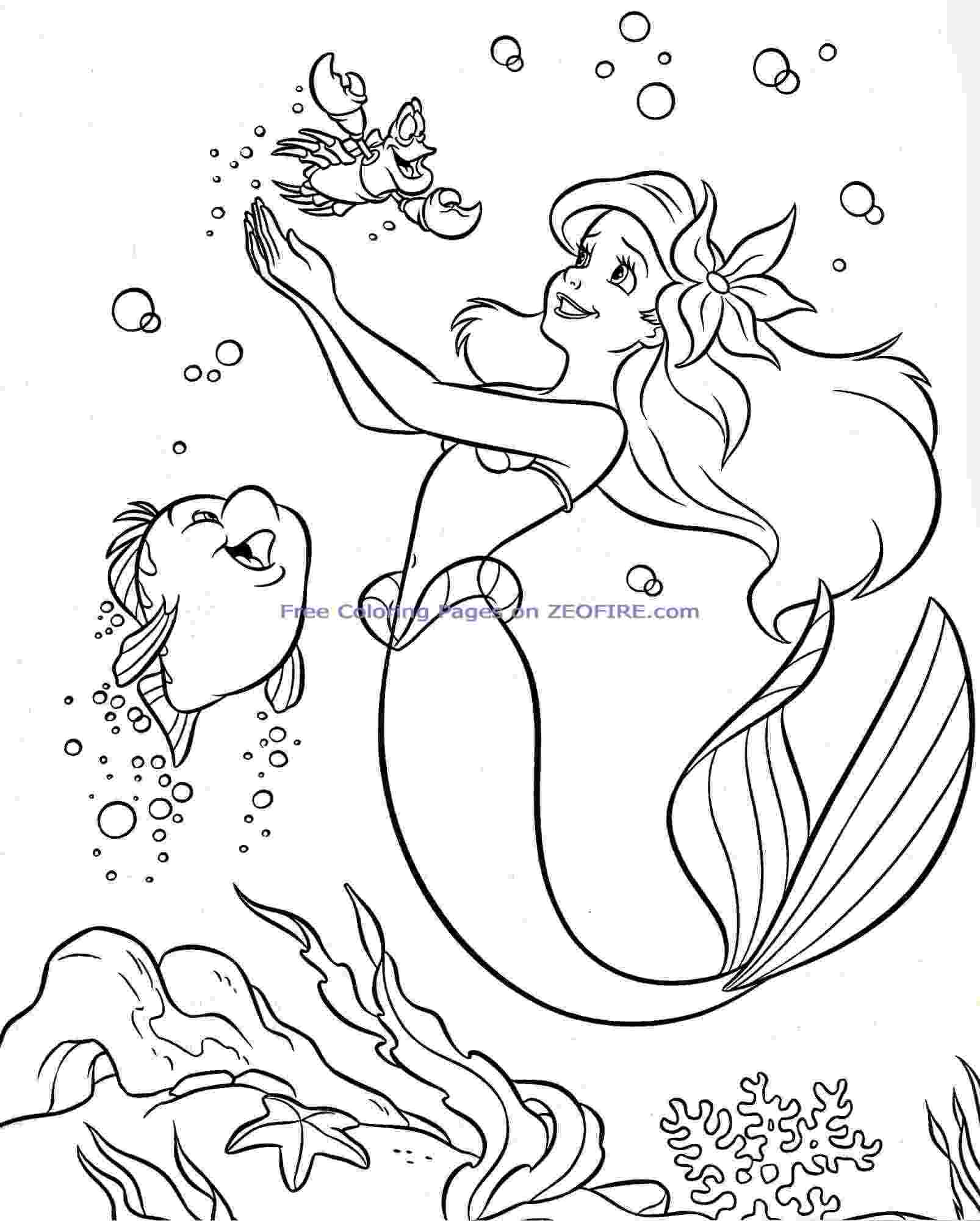 ariel coloring sheets ariel coloring pages to download and print for free coloring ariel sheets
