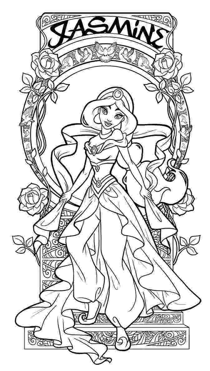 art nouveau coloring book online jasmine art nouveau lineart by paola toscadeviantart nouveau online art book coloring