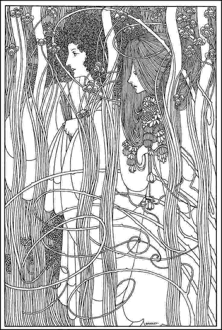 artist coloring books art nouveau coloring pages to download and print for free books coloring artist 1 1