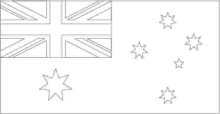 australian flag template to colour education paint a flag australian national flag to australian flag template colour
