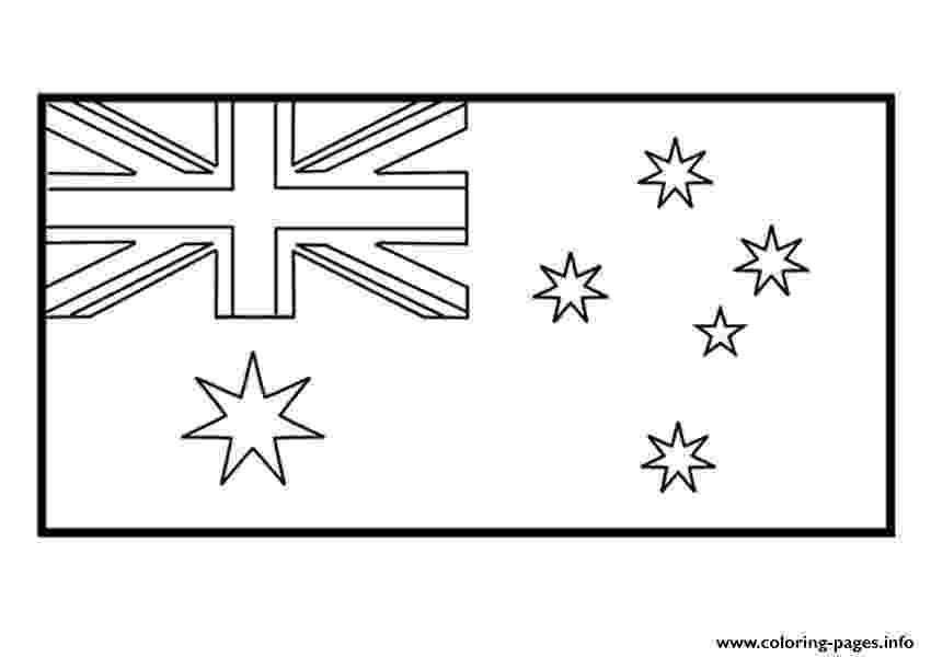 australian flag template to colour kids australian flag coloring pages printable to template colour flag australian