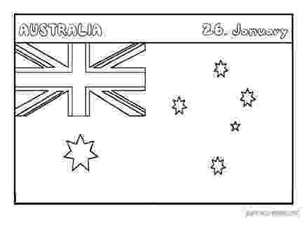australian flag template to colour printable flag of australia coloring page printable template colour australian to flag