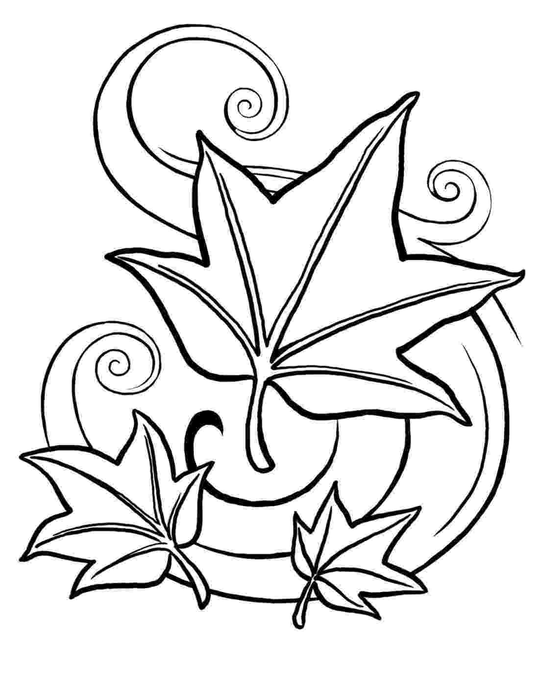 autumn leaves coloring pages fall leaves coloring page crayolacom coloring pages autumn leaves