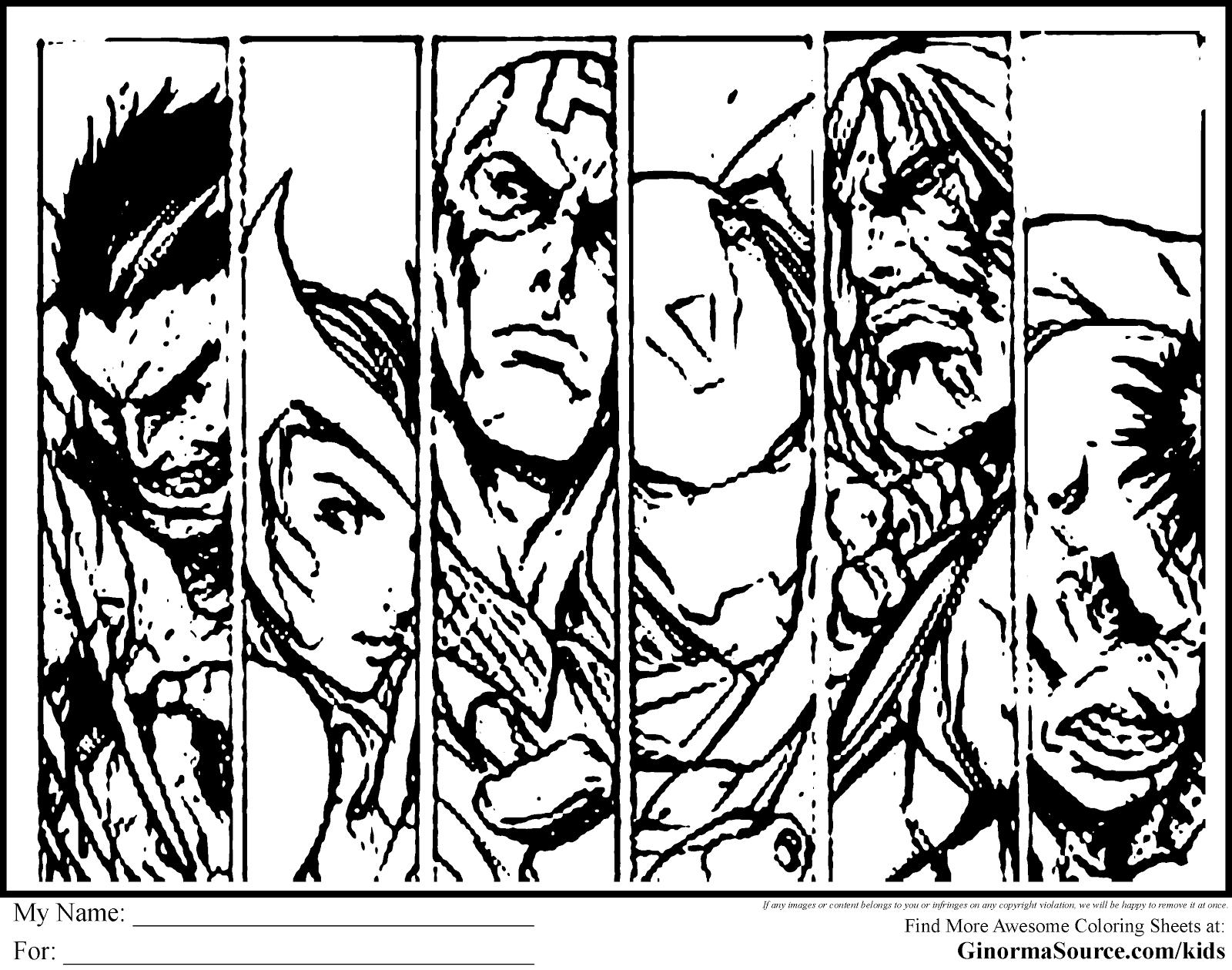 avengers color pages avengers activities avengers marvel hq color avengers pages