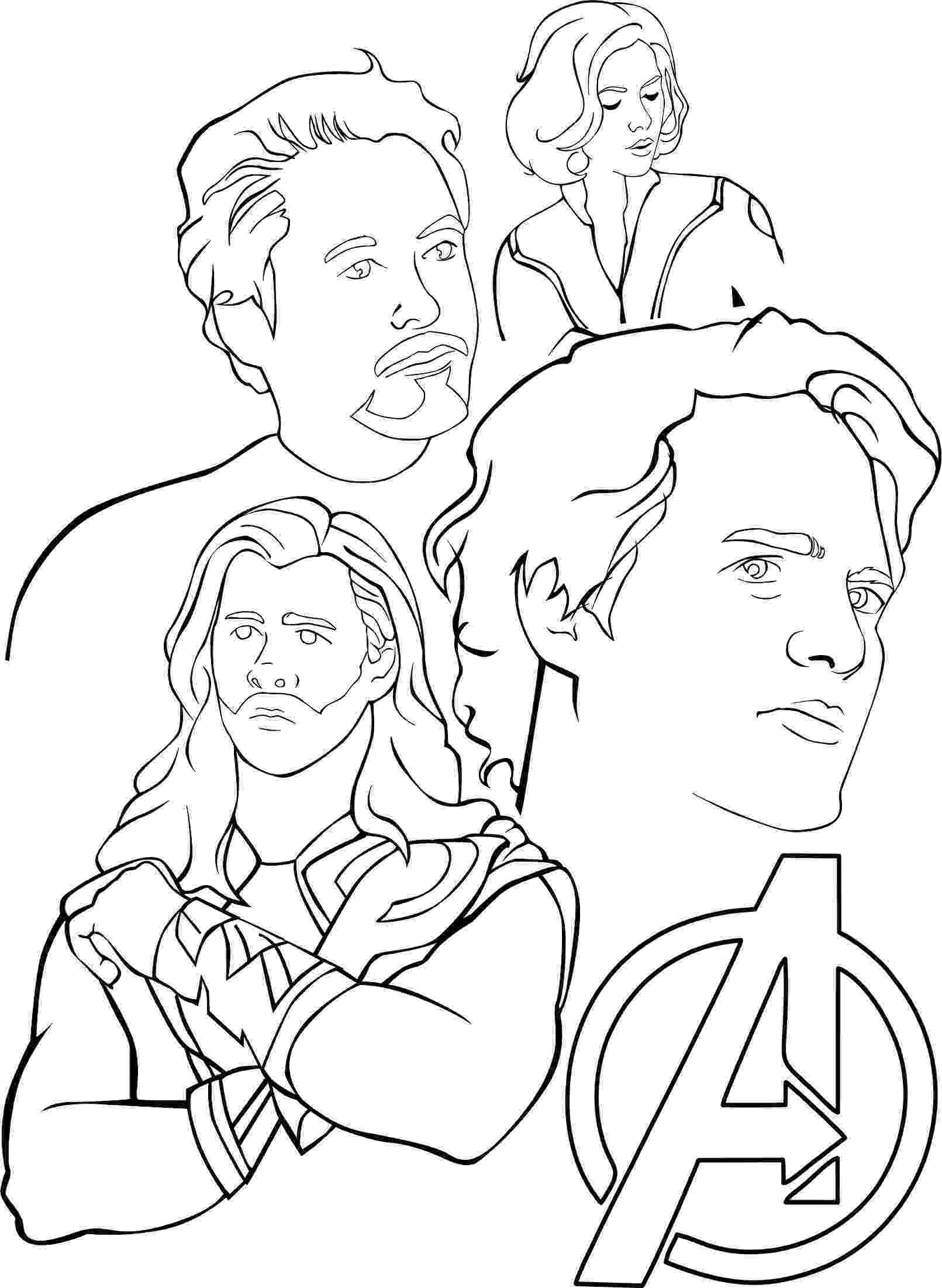 avengers coloring pages to print avengers coloring pages 360coloringpages pages print to avengers coloring