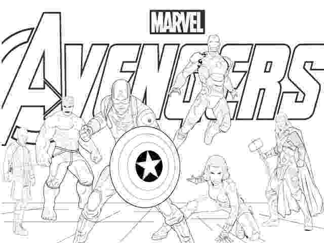 avengers coloring sheet avengers coloring pages print and colorcom sheet avengers coloring 1 1