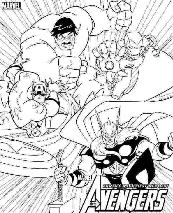 avengers colouring pages awesome avengers team coloring page h m coloring pages colouring avengers pages