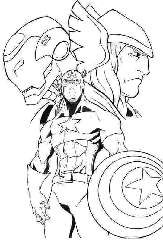 avengers thor colouring pages avengers coloring pages 360coloringpages avengers pages colouring thor