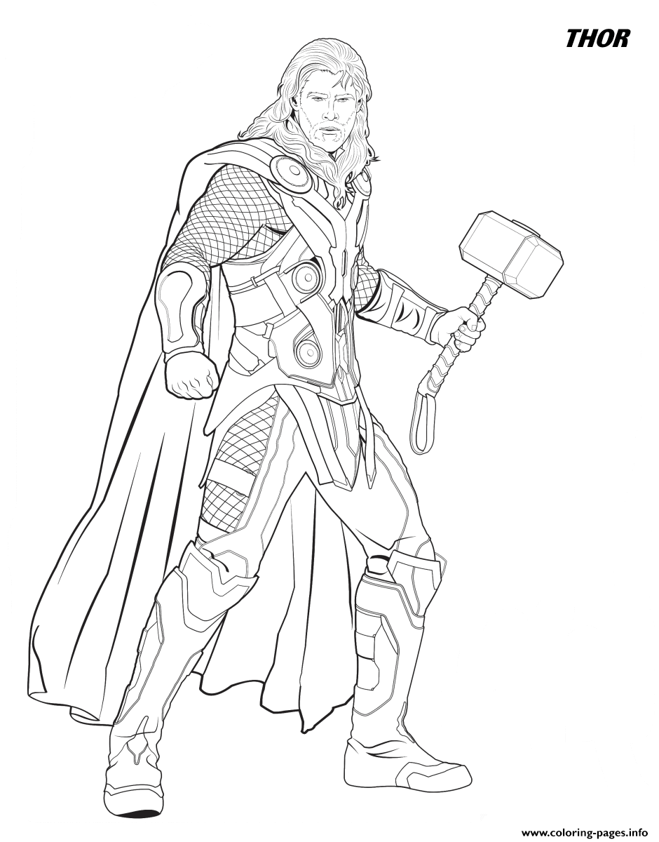 avengers thor colouring pages avengers infinity war coloring pages thor drawing free pages avengers thor colouring