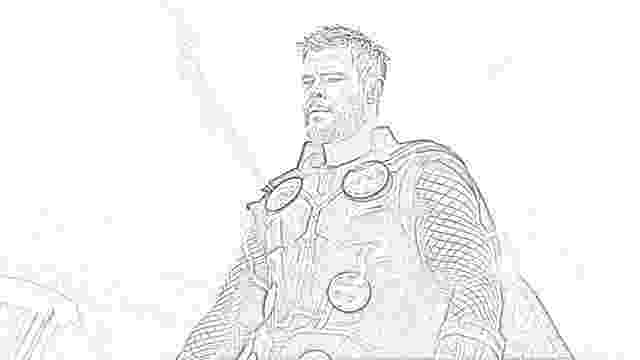 avengers thor colouring pages coloring pages avengers endgame coloring pages free and pages colouring thor avengers