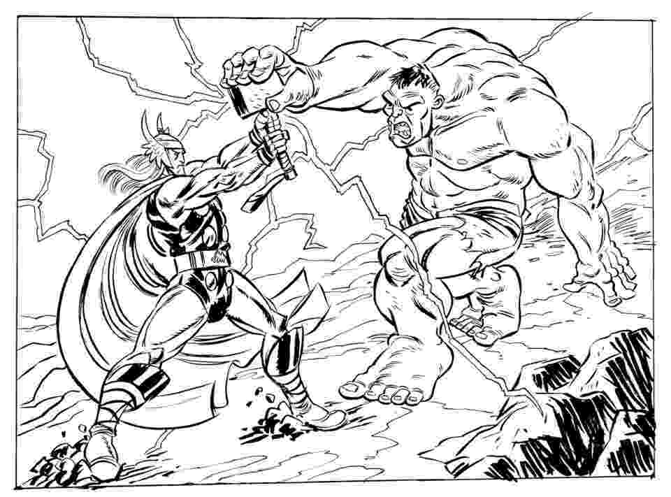 avengers thor colouring pages get this avengers coloring pages thor and hulk 67381 pages thor avengers colouring