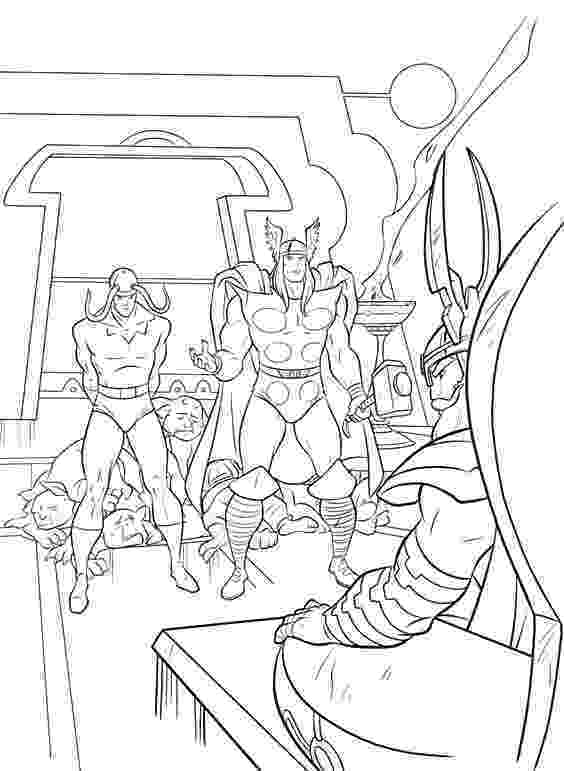 avengers thor colouring pages printable thor coloring pages for kids 360coloringpages colouring thor pages avengers