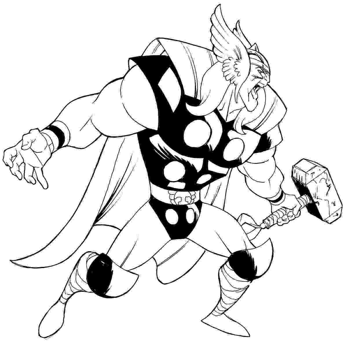 avengers thor colouring pages thor coloring download thor coloring for free 2019 thor pages colouring avengers