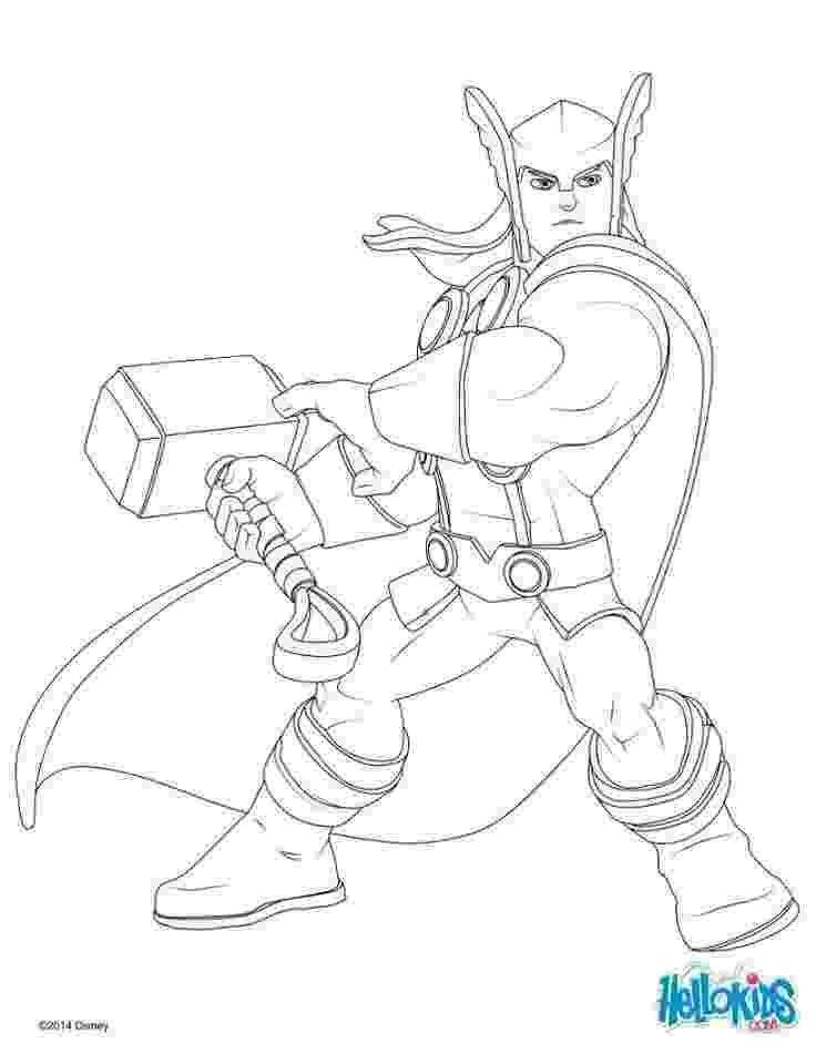 avengers thor colouring pages thor coloring page coloring pages hulk coloring pages pages avengers colouring thor