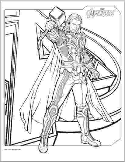 avengers thor colouring pages thor coloring pages to print the avengers avengers colouring avengers thor pages