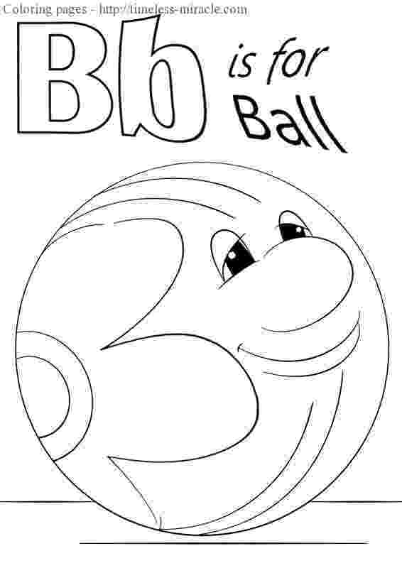 b is for ball coloring page b is for ball coloring page timeless miraclecom page coloring for ball b is