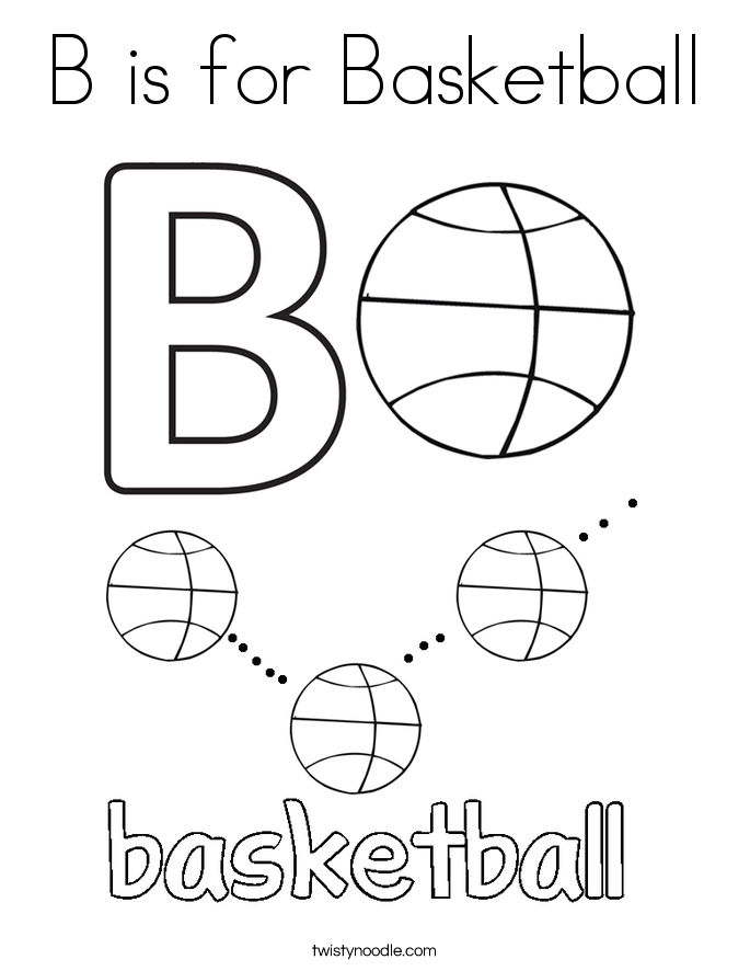 b is for ball coloring page free alphabetphonics coloring pages from sherriallencom ball page for is coloring b
