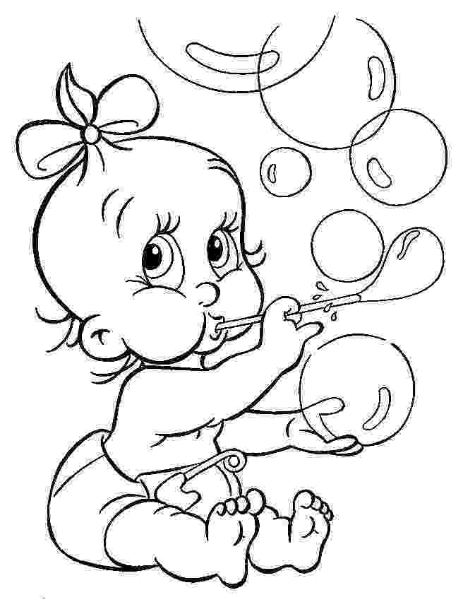 babies coloring pages free printable baby coloring pages for kids pages coloring babies 1 1