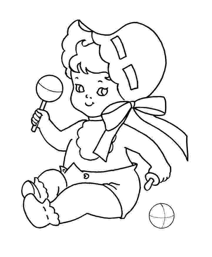 babies coloring pages free printable baby coloring pages for kids pages coloring babies 1 3