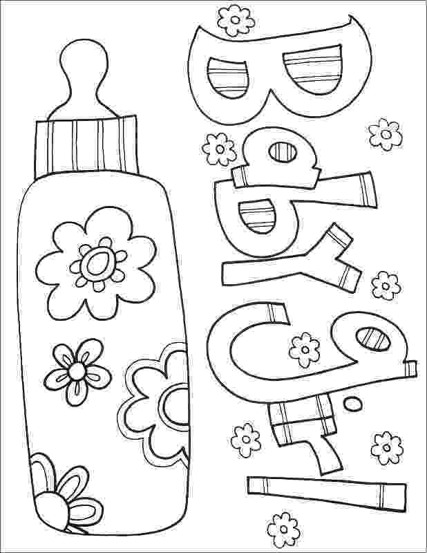 babies coloring pages lol doll leading baby coloring page free printable pages babies coloring