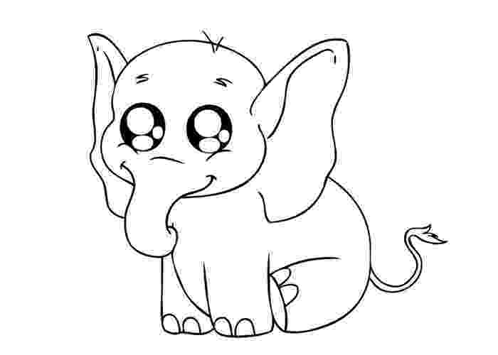 baby animals to color baby elephant coloring pages to download and print for free color animals baby to