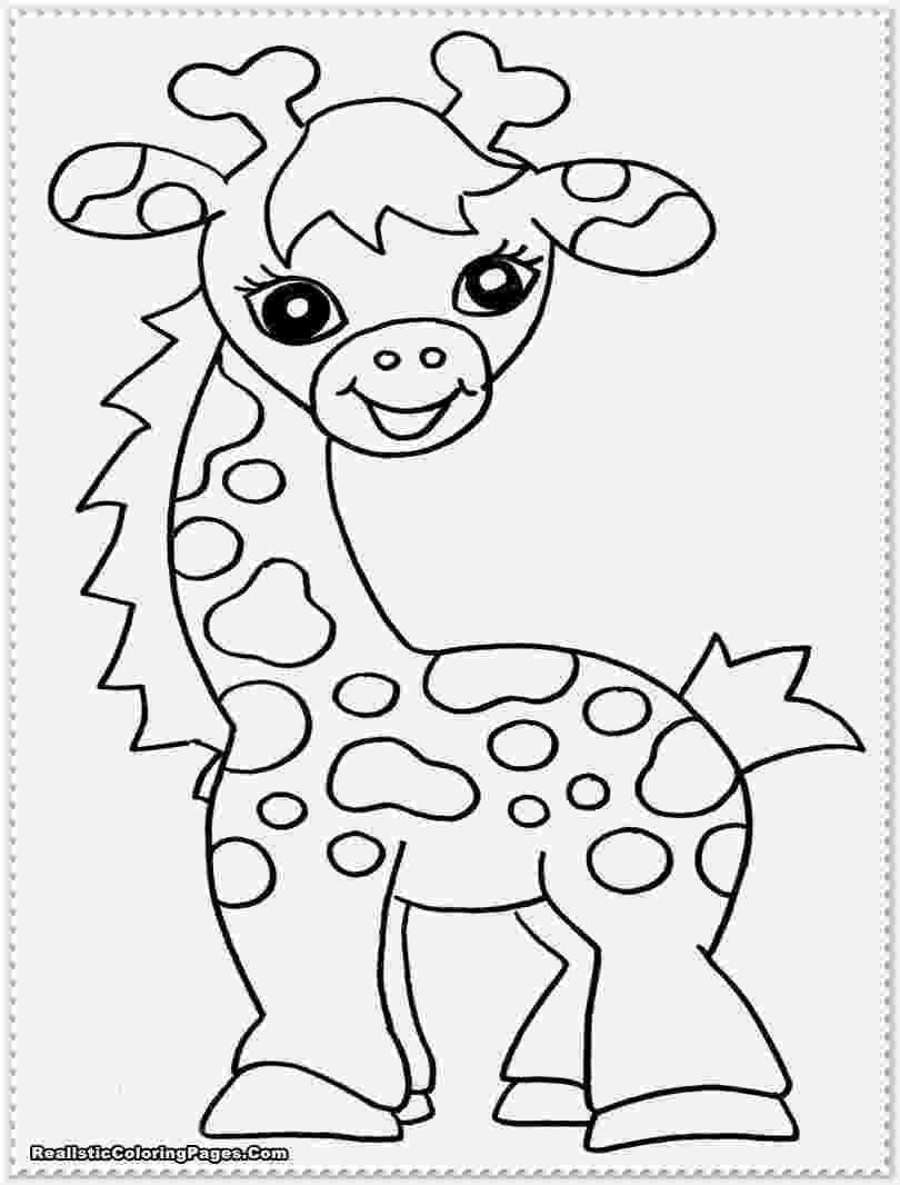 baby animals to color free printable farm animal coloring pages for kids to animals color baby