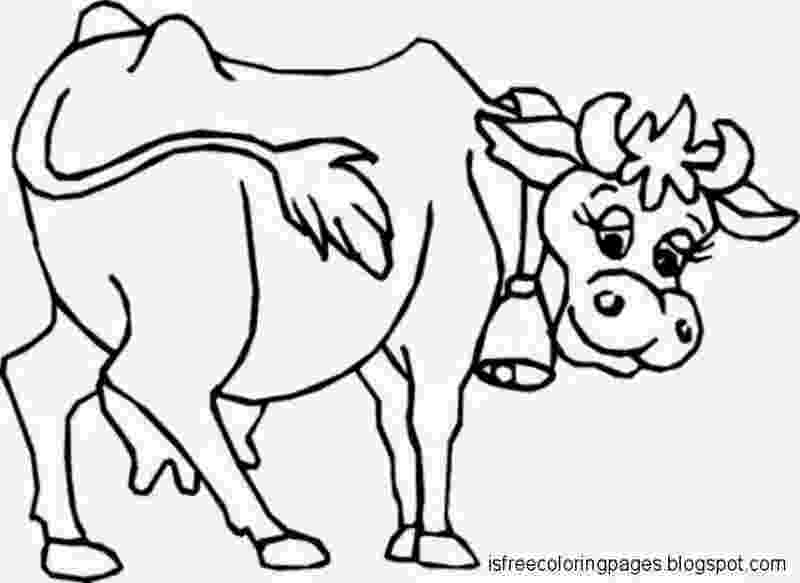 baby cow coloring pages cow outline drawing at getdrawingscom free for personal pages coloring baby cow