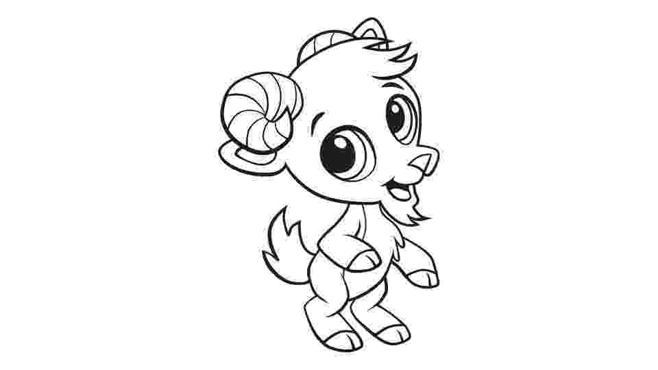 baby goat coloring pages baby goat coloring printable pages coloring baby goat