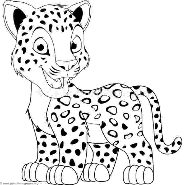 baby leopard coloring pages coloring page baby leopard coloringme pages leopard baby coloring