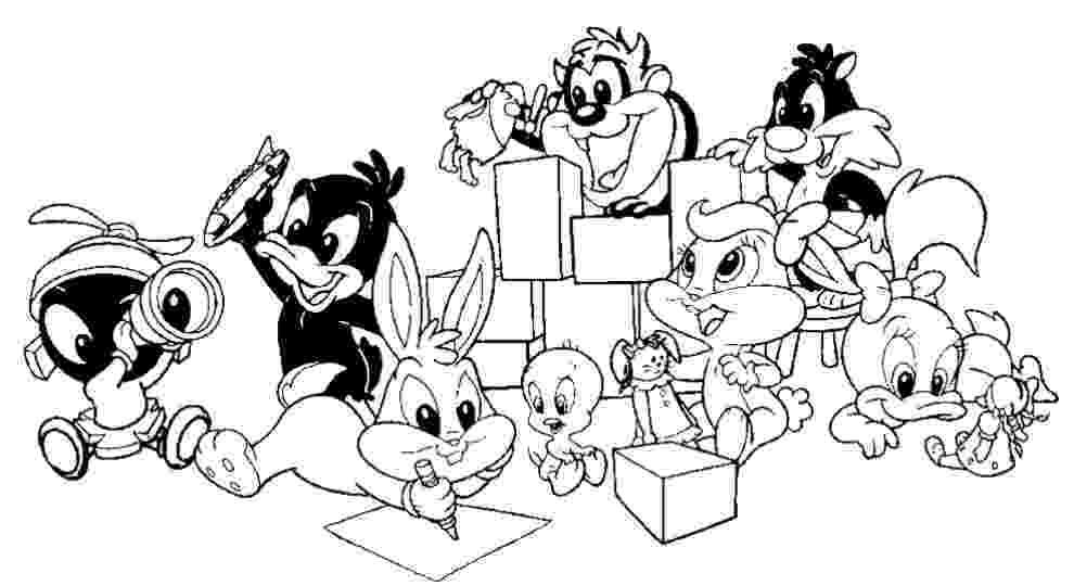 baby looney tunes coloring pages baby looney toons coloring pages baby looney tunes pages tunes looney coloring baby