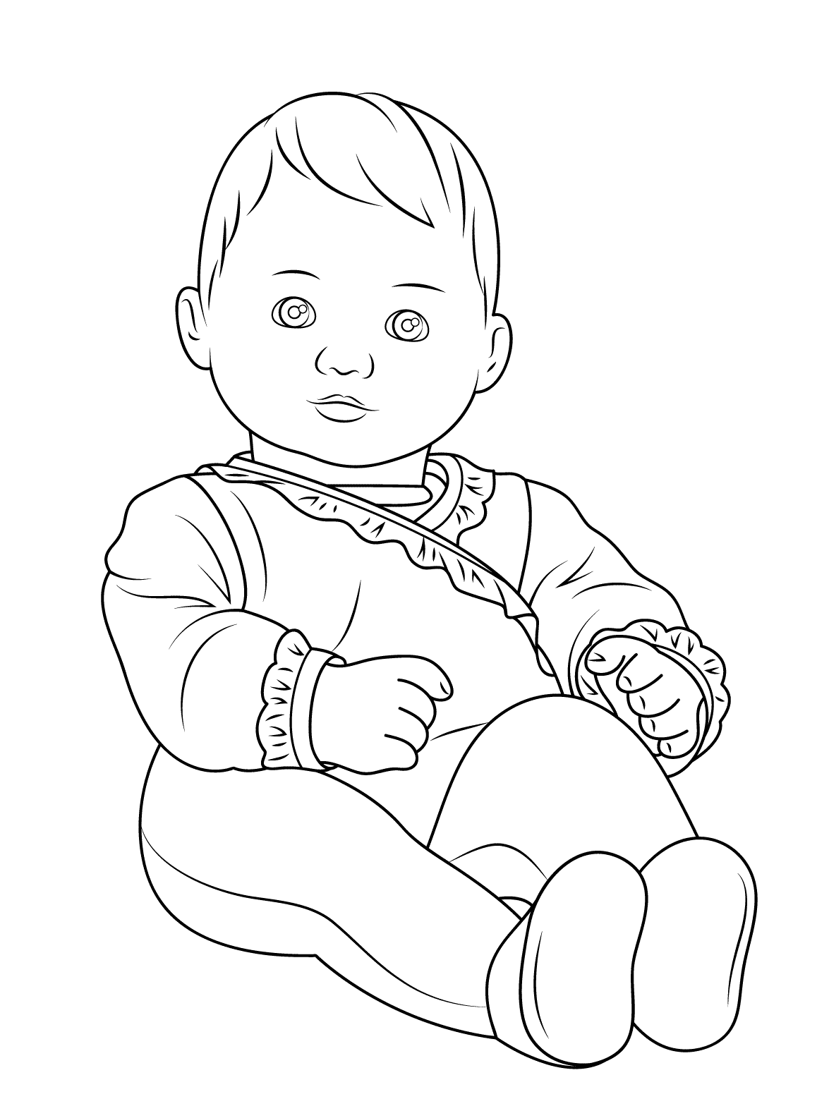 baby pictures coloring pages free printable baby coloring pages for kids coloring baby pictures pages
