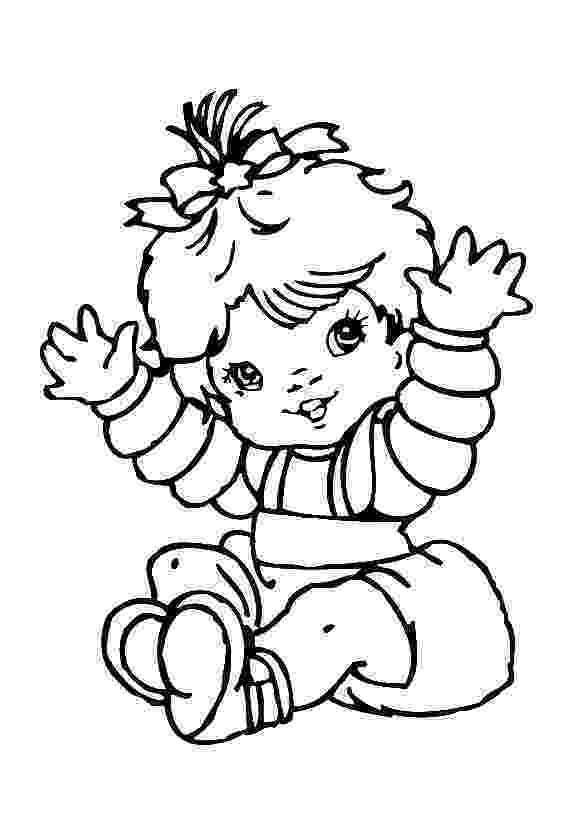 baby pictures coloring pages free printable baby coloring pages for kids cool2bkids baby pages coloring pictures