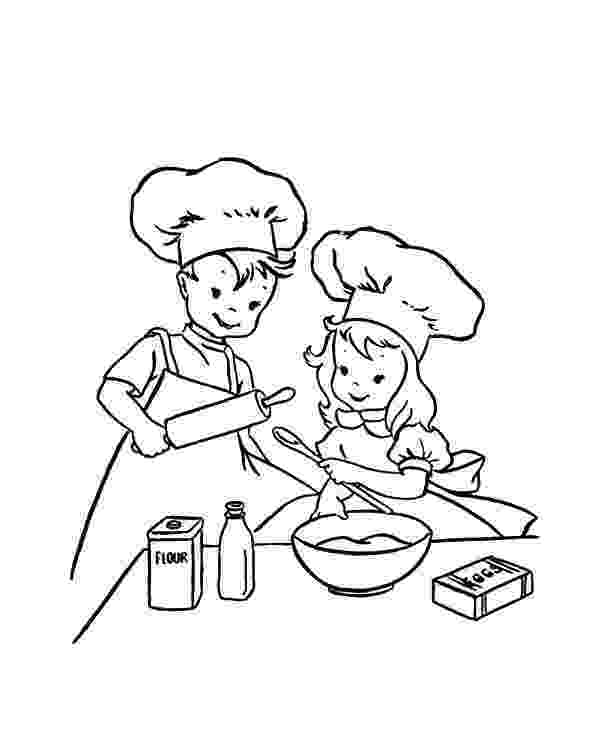 baking coloring pages baking coloring pages at getdrawingscom free for baking pages coloring